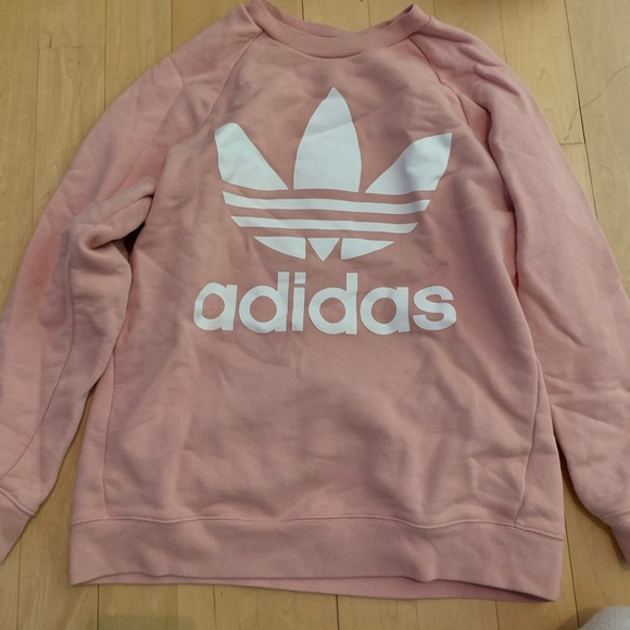 Fatal dieta discordia  adidas Tops | Adidas Pink Sweater | Poshmark